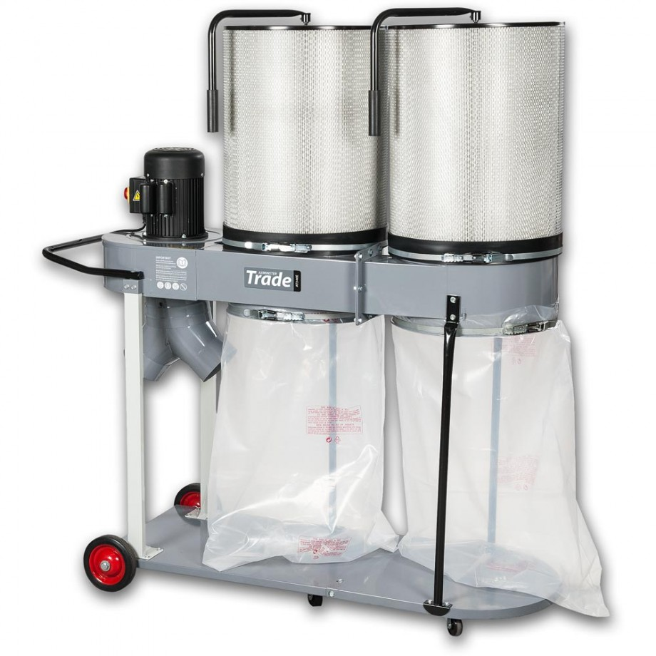 Axminster Trade Series CT-90HCK 3hp Extractor