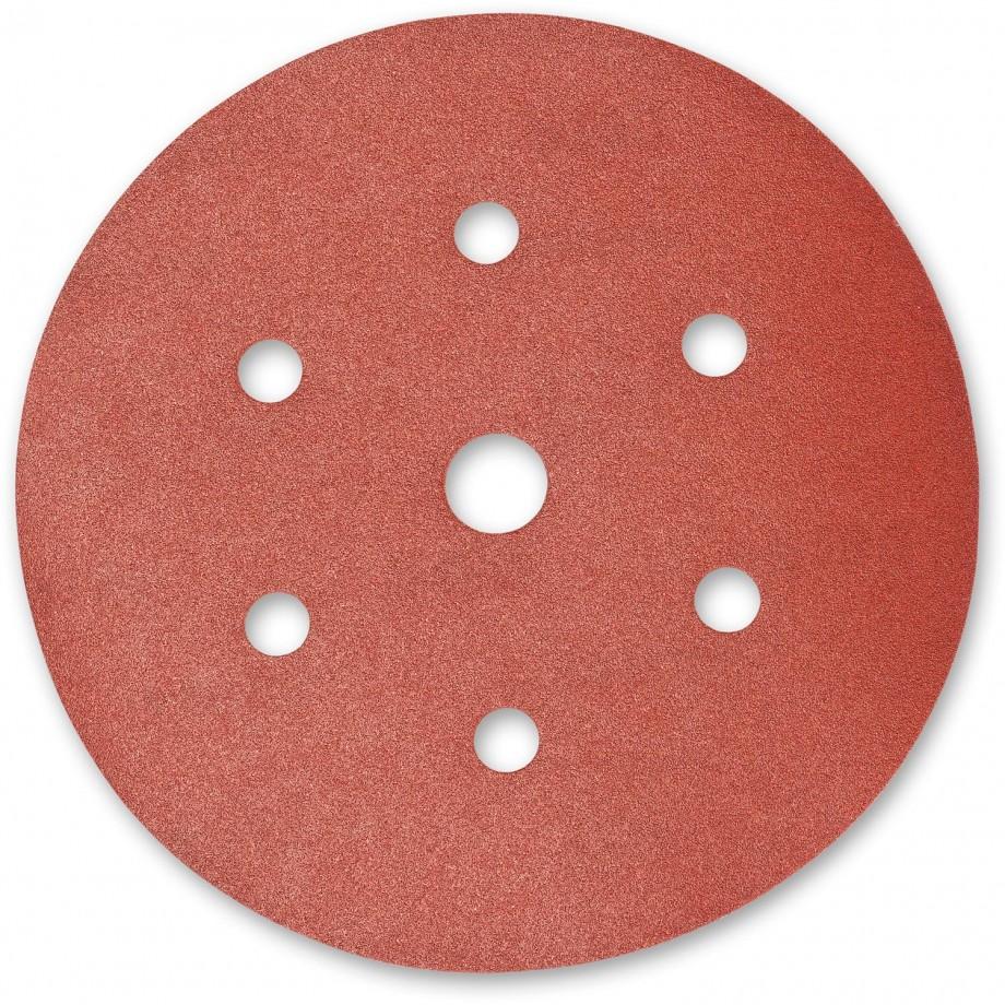 Mirka Deflex Abrasive Discs 150mm 180g 6+1 Hole (Pkt 100)
