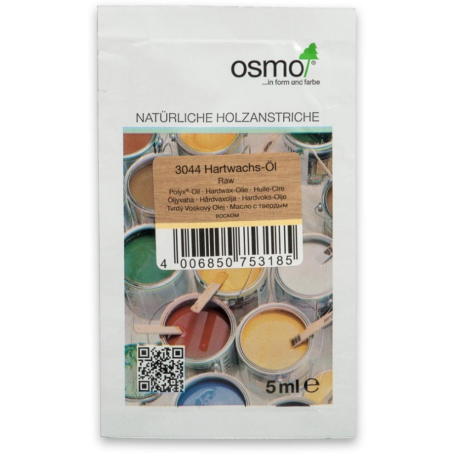 Osmo Polyx Hard-Wax Oil 3044 Raw 5ml Sample Sachet
