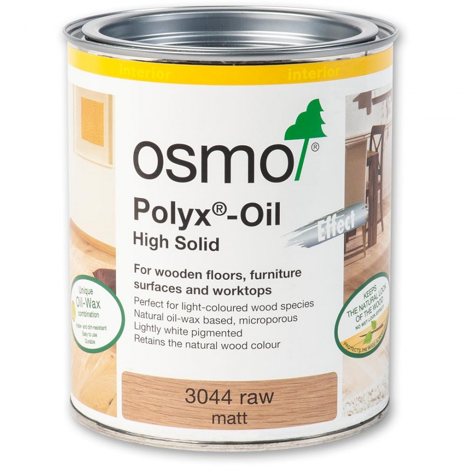 Osmo Polyx Hard-Wax Oil 3044 Raw 750ml