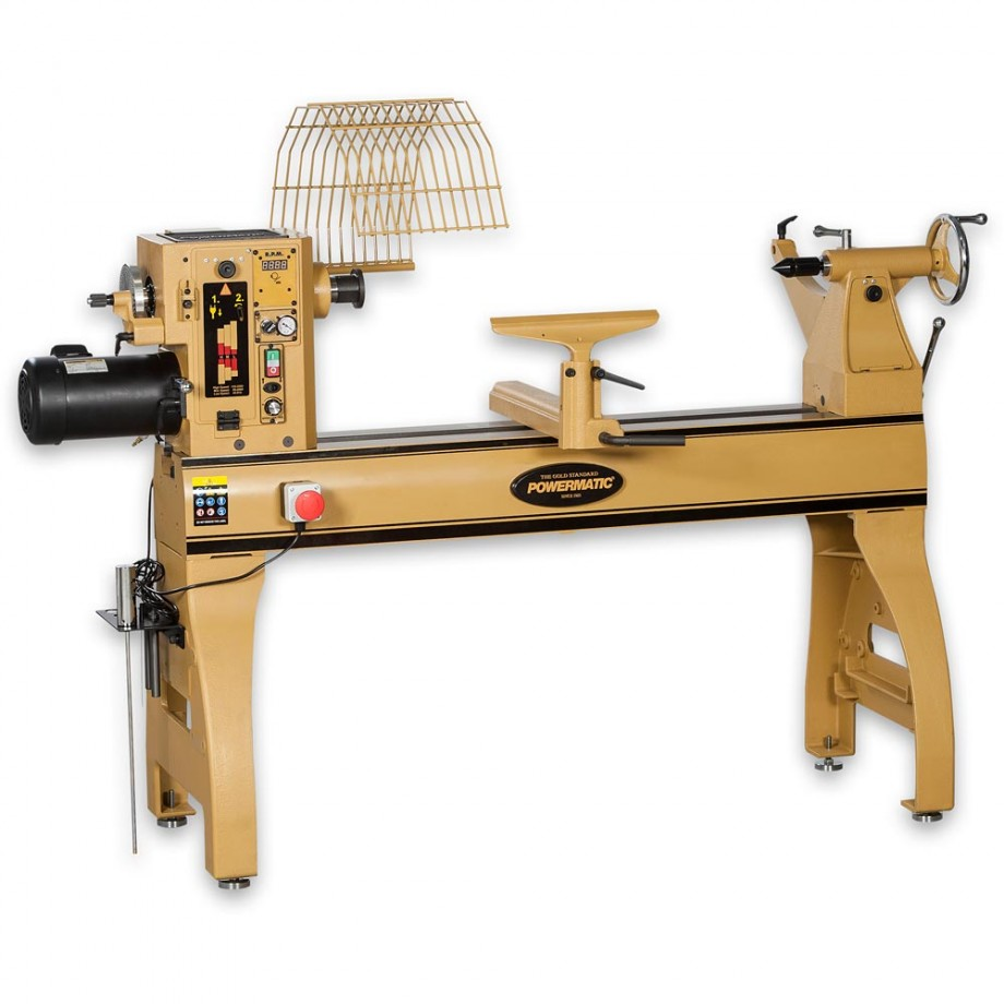 Powermatic 4224b Heavy Duty Woodturning Lathe Woodturning Lathes