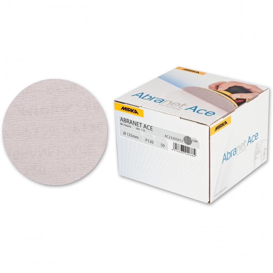 Mirka Abranet Ace Abrasive Disc 120g - 125mm (Box 50)