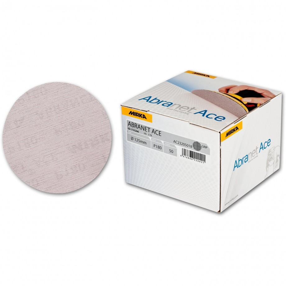 Mirka Abranet Ace Abrasive Disc 180g - 125mm (Box  50)