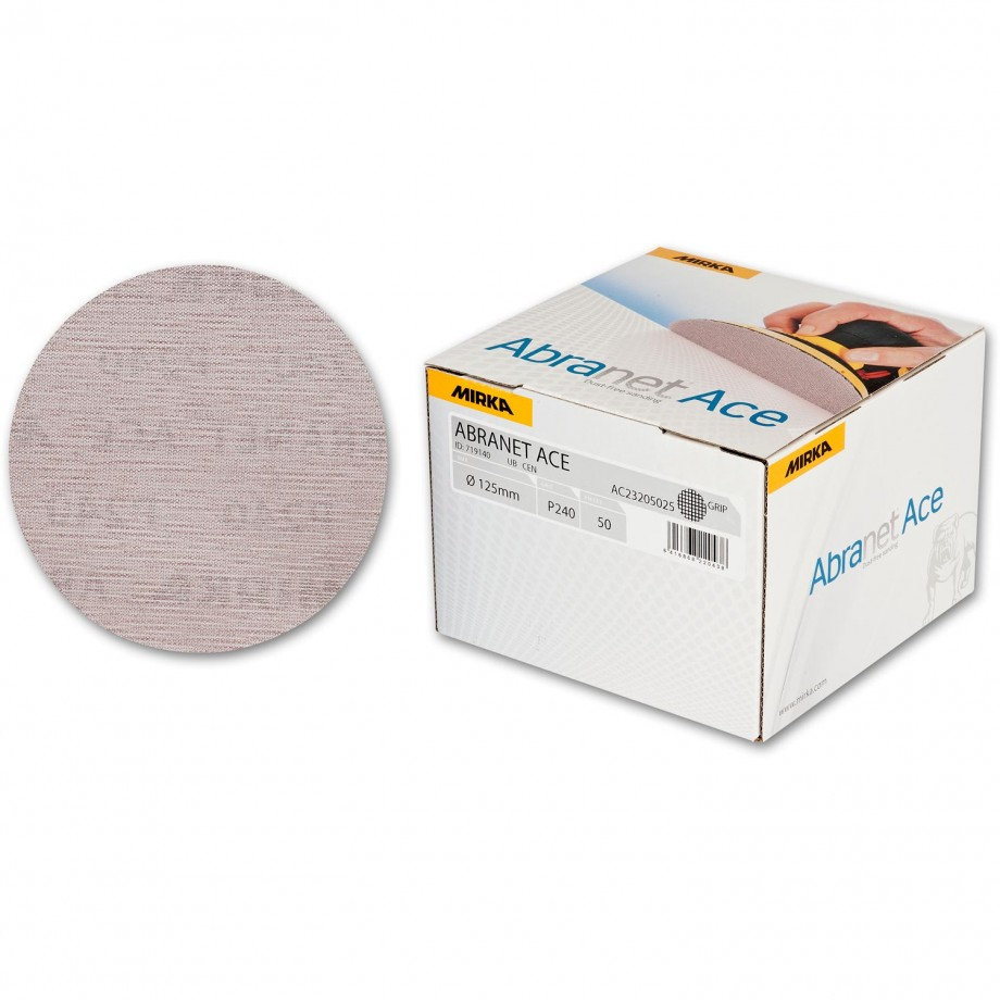 Mirka Abranet Ace Abrasive Disc 240g - 125mm (Box 50)