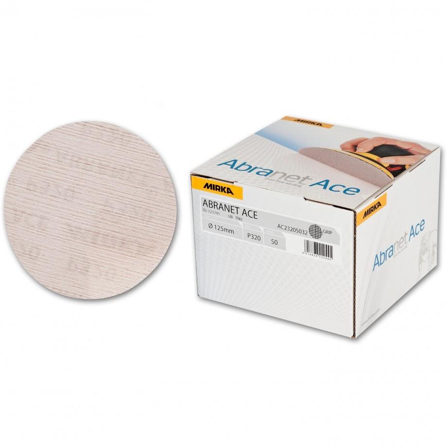 Mirka Abranet Ace Abrasive Disc 320g - 125mm (Box  50)