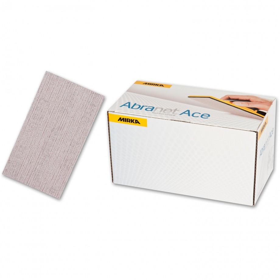 Mirka Abranet Ace Sheets 70 x 125mm 120g (Pkt 50)