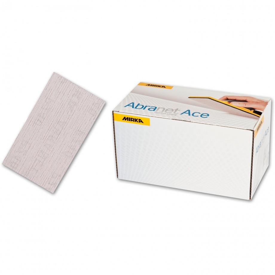 Mirka Abranet Ace Sheets 70 x 125mm 240g (Pkt 50)