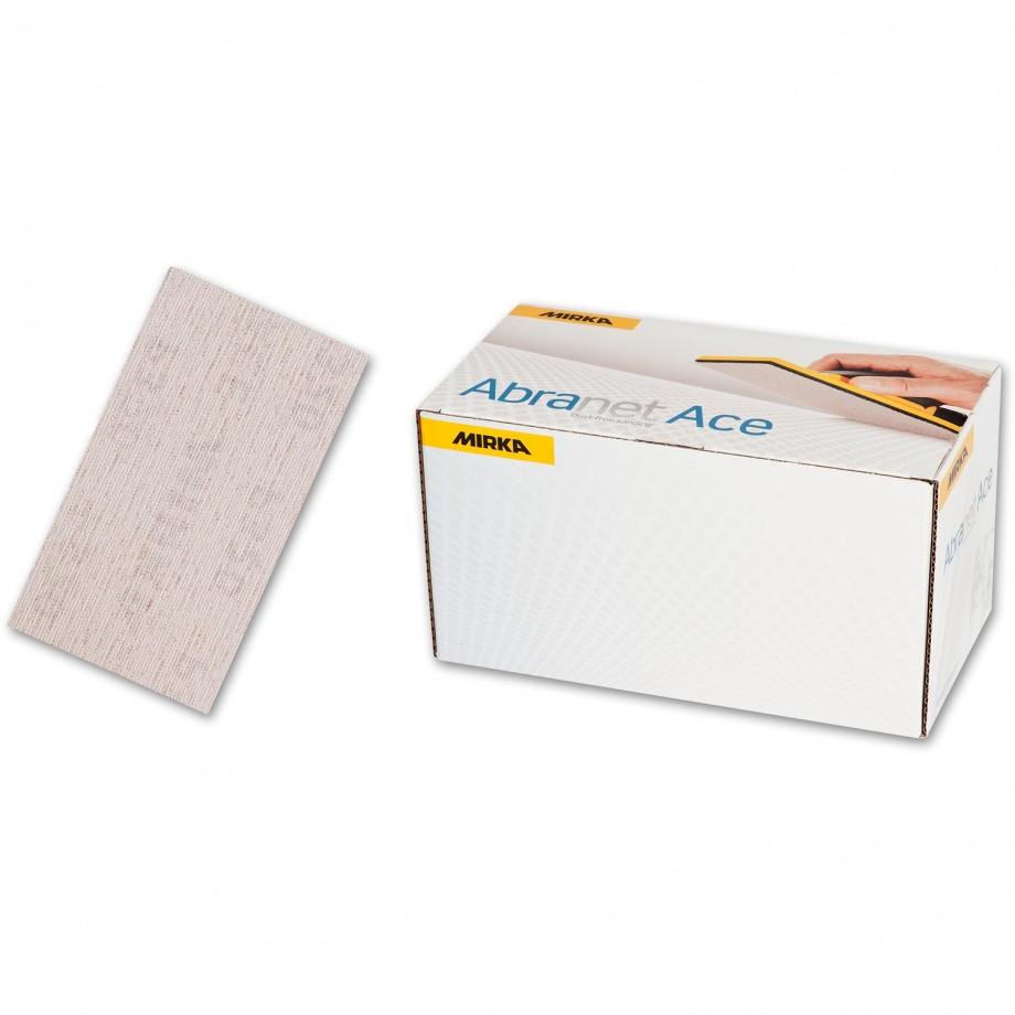 Mirka Abranet Ace Sheets 70 x 125mm 320g (Pkt 50)