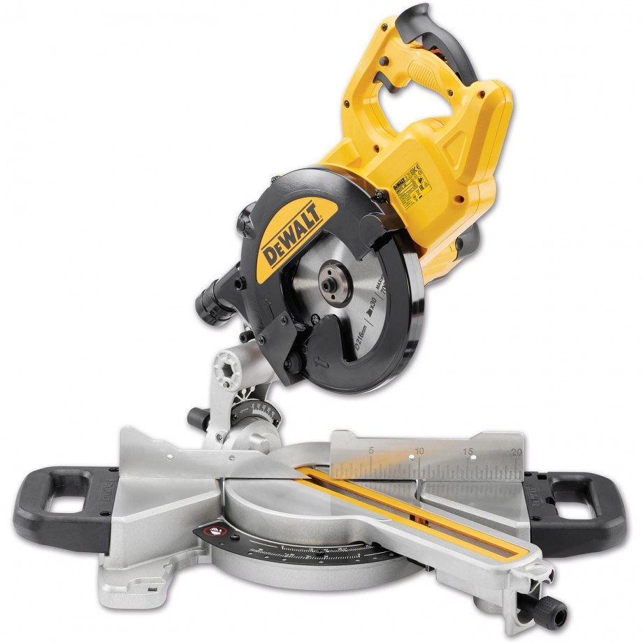 DeWALT DWS774 Mitre Saw 216mm 110V