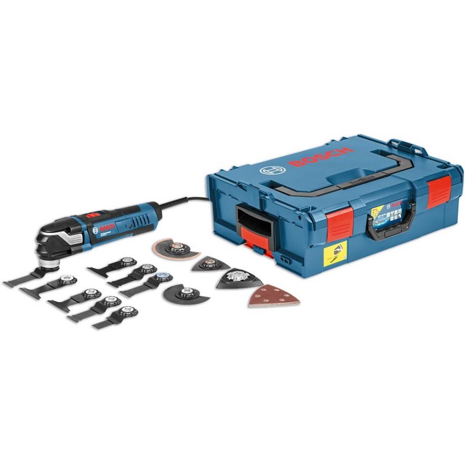 Bosch GOP 40-30 MultiCutter in L-BOXX & 15 Accessories 110V