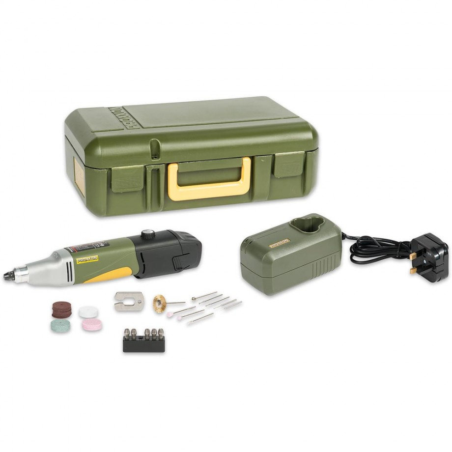 Proxxon Battery-Powered Drill/Grinder IBS/A