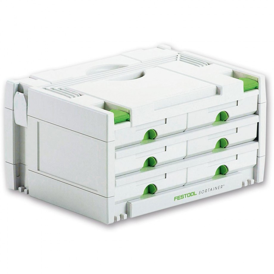 Festool SYS-3-SORT/6 Storage Systainer Drawer Unit