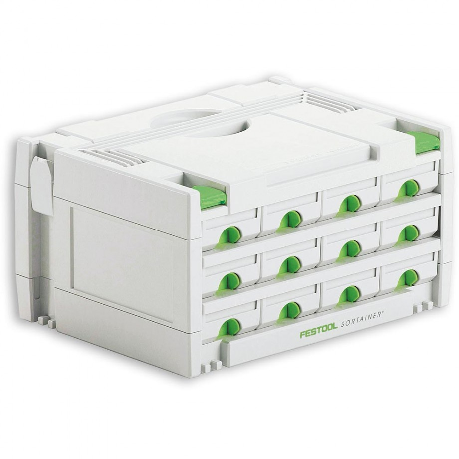 Festool SYS-3-SORT/12 Storage Systainer Drawer Unit
