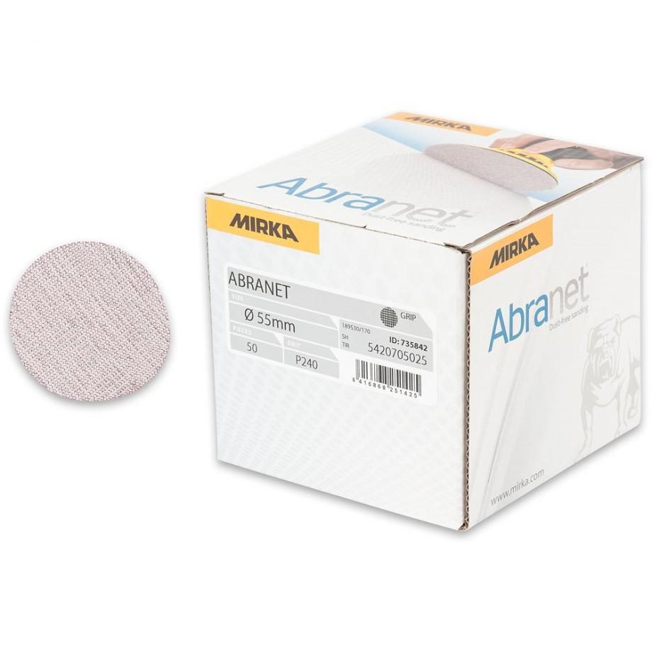 Mirka Abranet Ace 55mm Sanding Disc 240g - (Box 50)