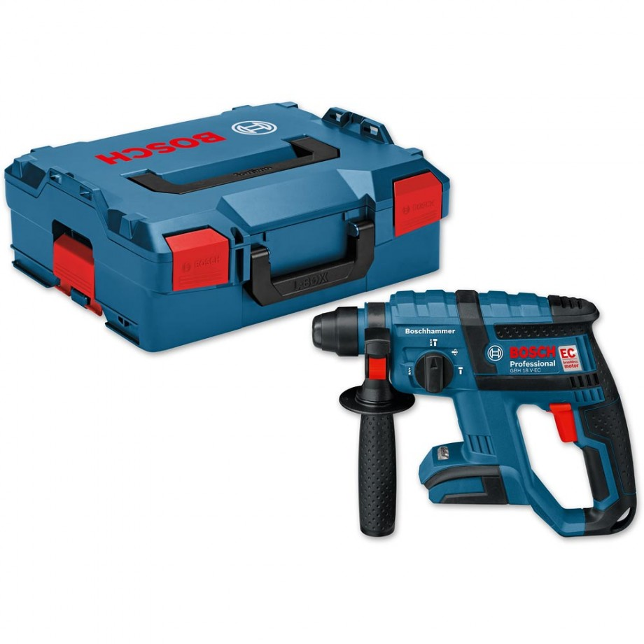 Bosch GBH 18 V-EC Brushless SDS+ Drill 18V in L-Boxx (Body Only)