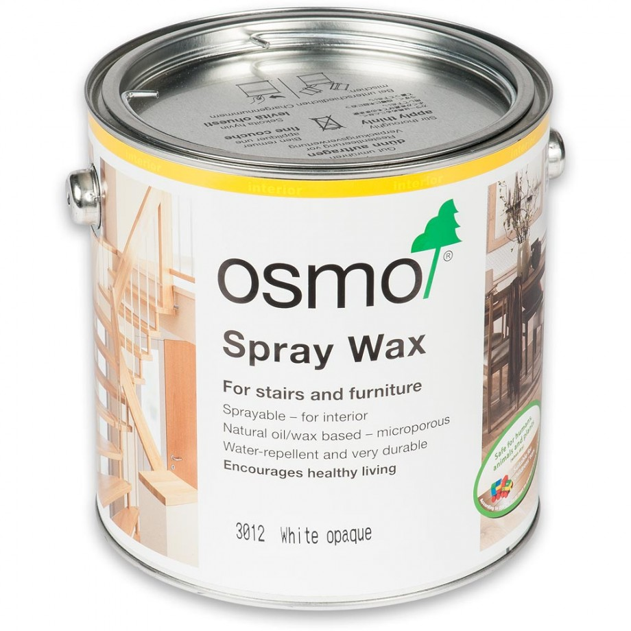 Osmo Spray Wax 3012 White Opaque 2.5L