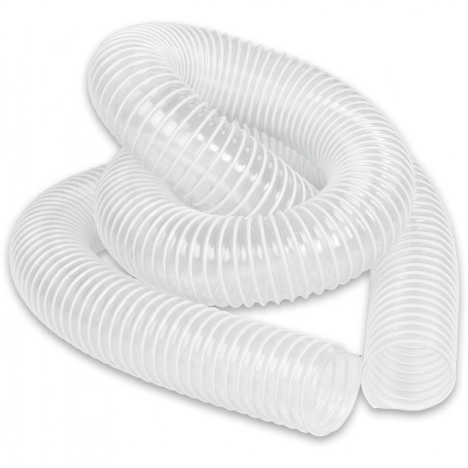 Axminster Clear Reinforced PVC Hose 63mm x 2.5m