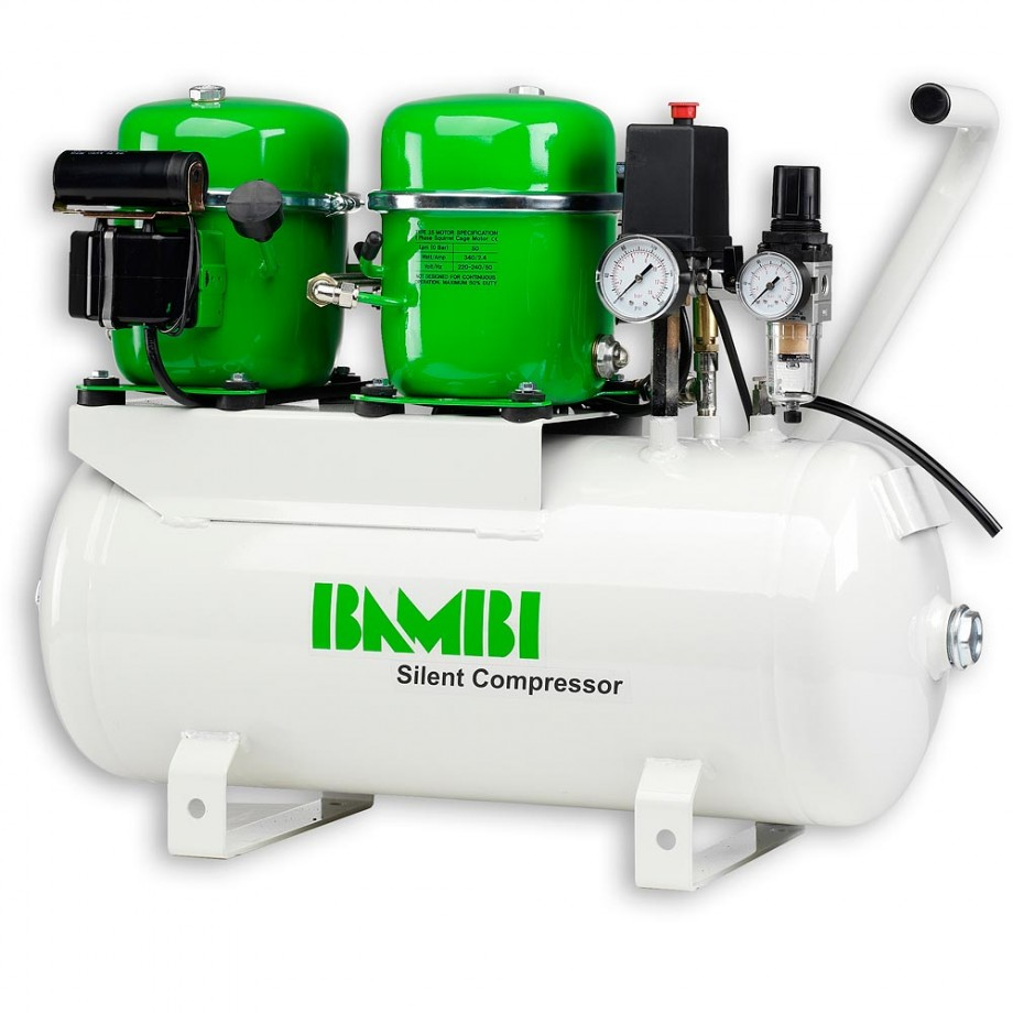 Bambi BB24D Silent Air Compressor