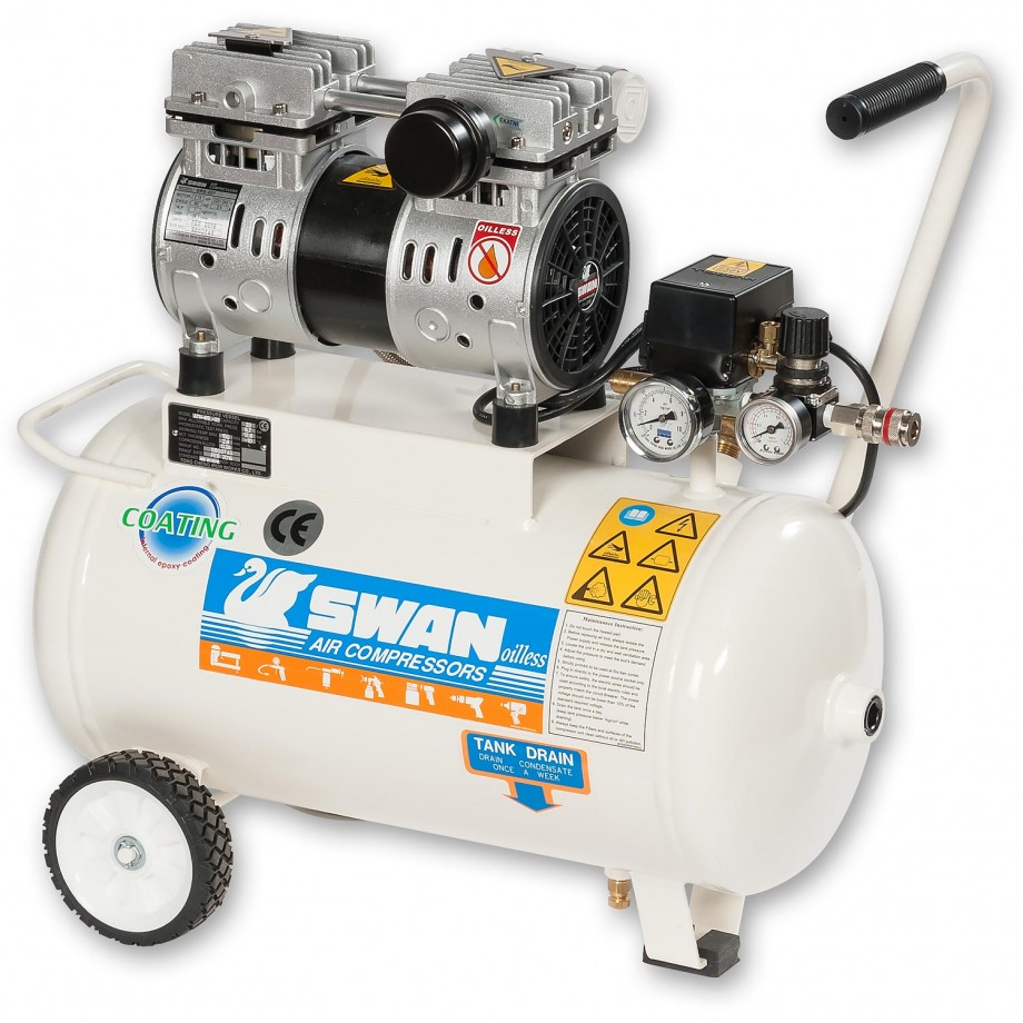 Swan DRS-207-22  Oil Free Low Noise Compressor