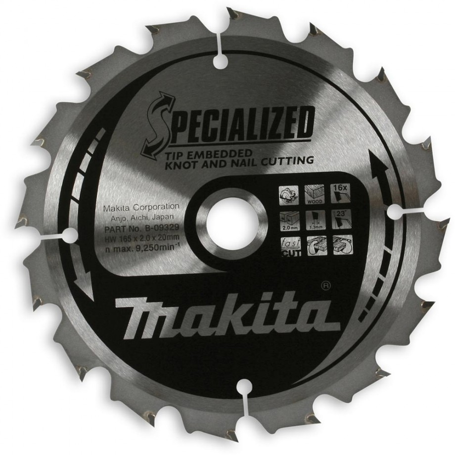 Makita Specialised TCT Saw Blade 190mm  40T