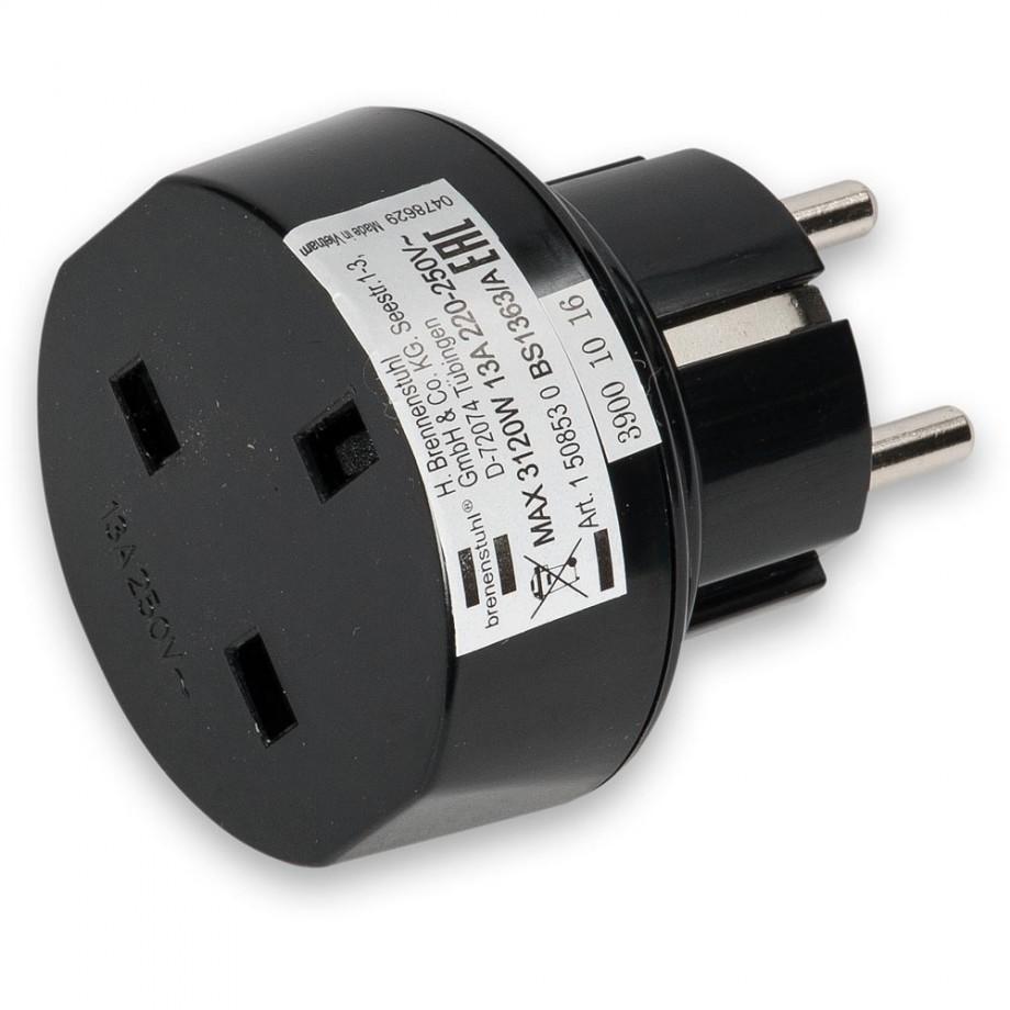 Brennenstuhl Travel Adaptor EU (220-250V - 13Amp)