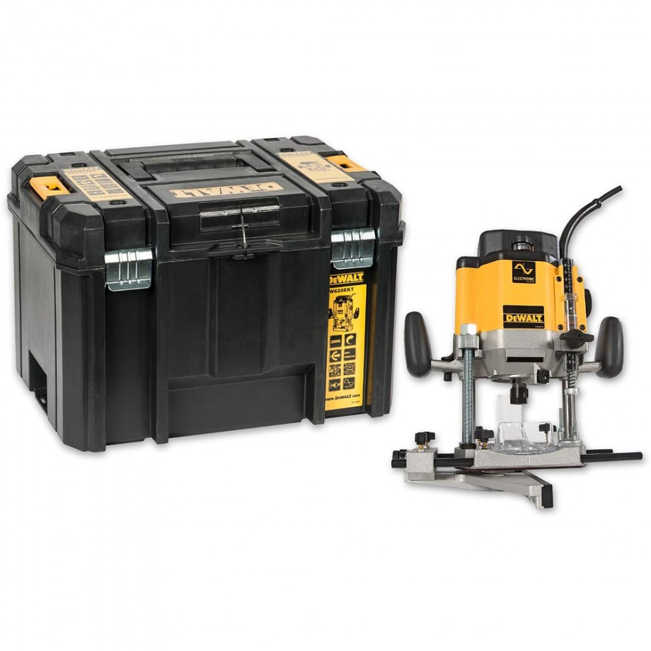 DeWALT DEW625EKT Router 2000W in TSTAK Case 110V