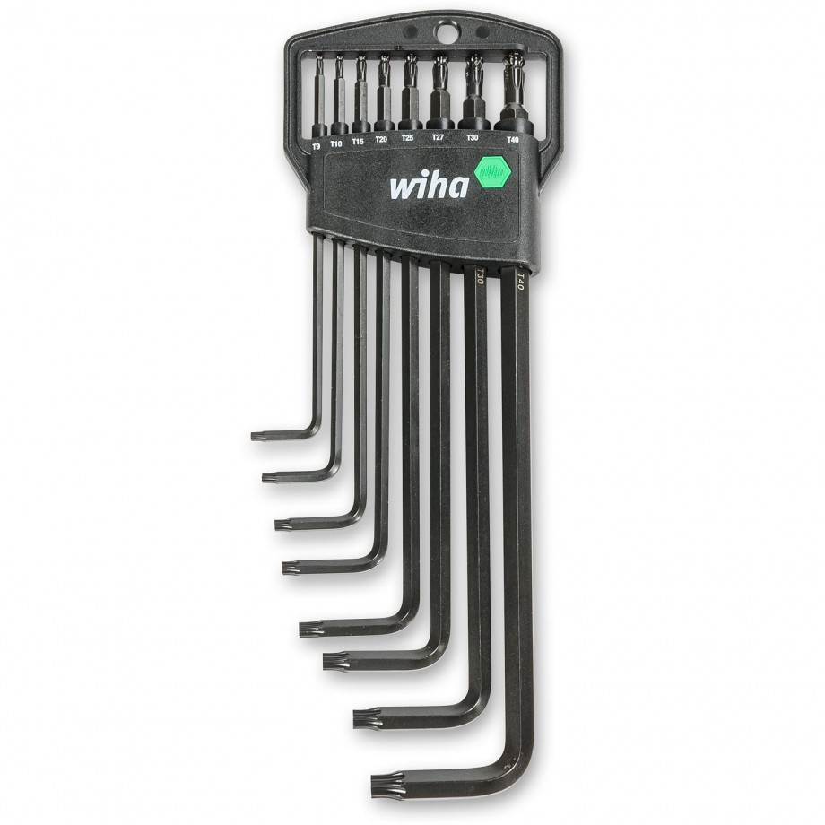 Wiha 8 Piece Torx Ball End Key Set