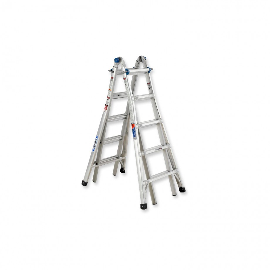Werner 3.98m Telescopic Combination Ladder MT16 (4 x 4)