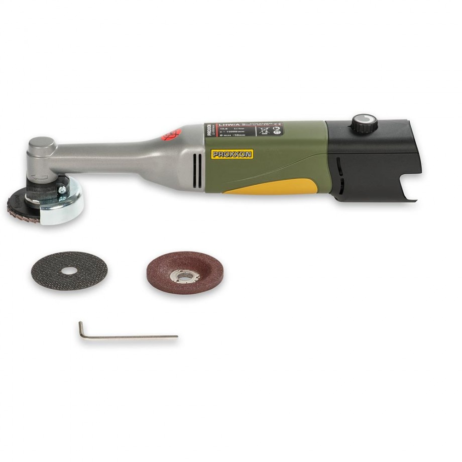 Proxxon Battery-Powered Angle Grinder LHW/A (Body Only)