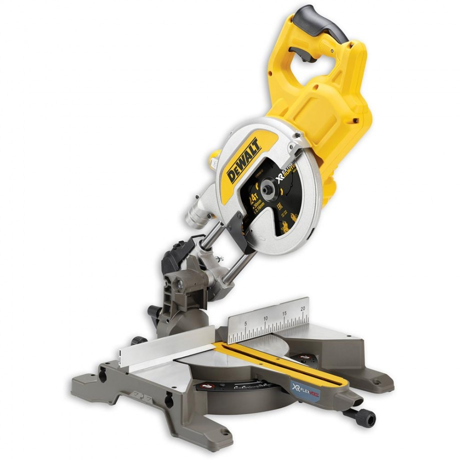 DeWALT DCS777N XR FLEXVOLT Mitre Saw 54V (Body Only)