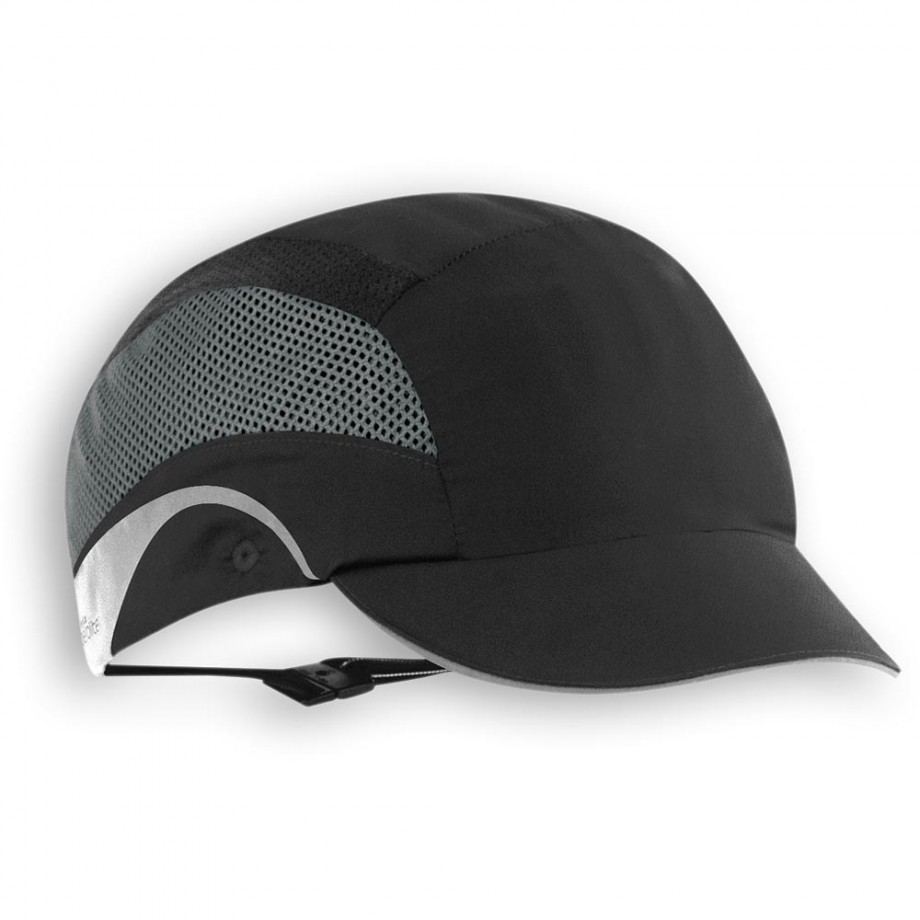 JSP HardCap AeroLite® Bumpcap with Short Peak Black
