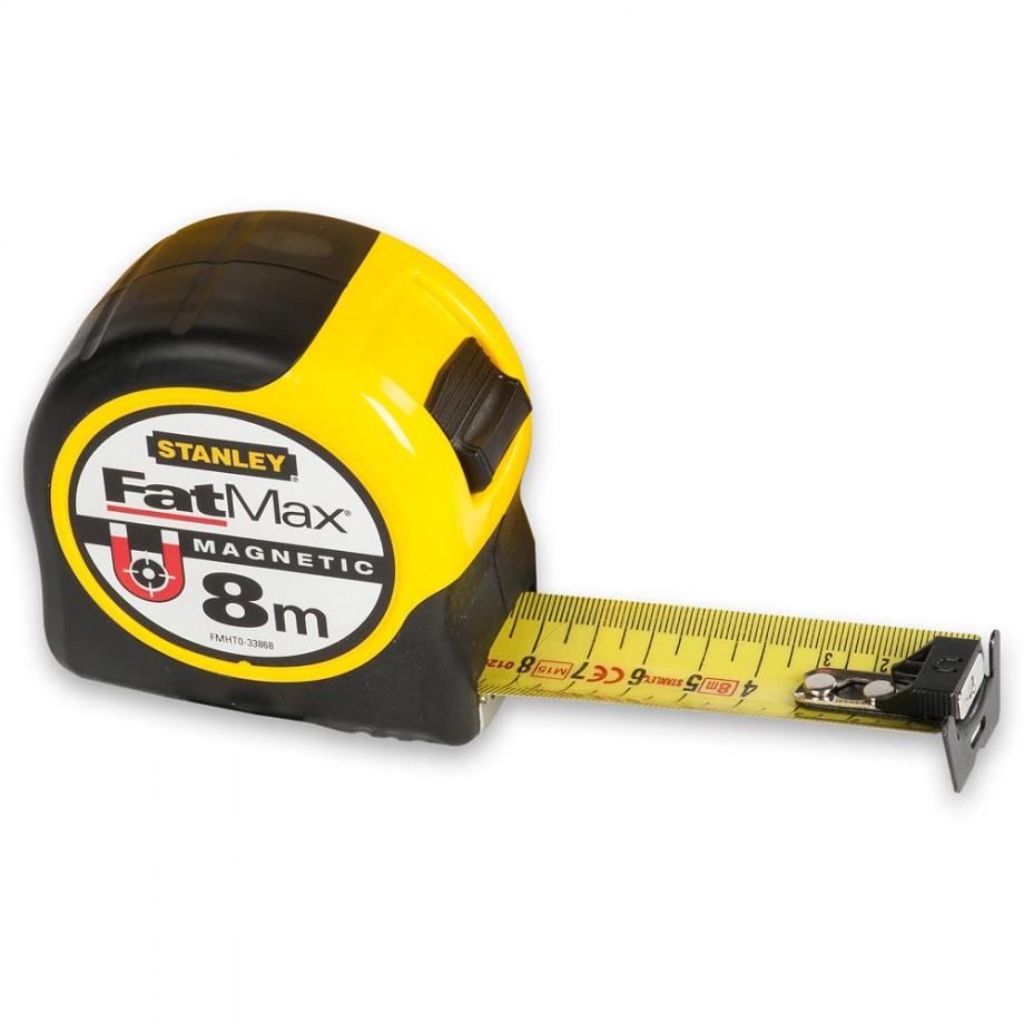Stanley FatMax BladeArmor Magnetic Tape 8m