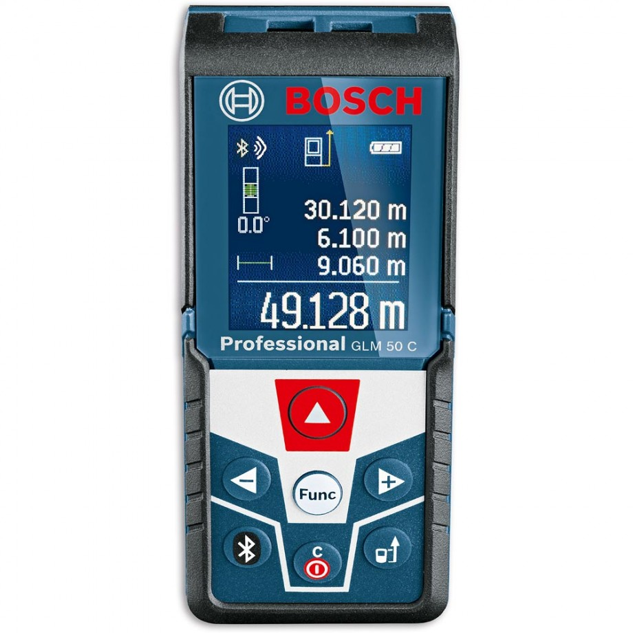 Bosch GLM 50 C Laser Rangefinder with Bluetooth