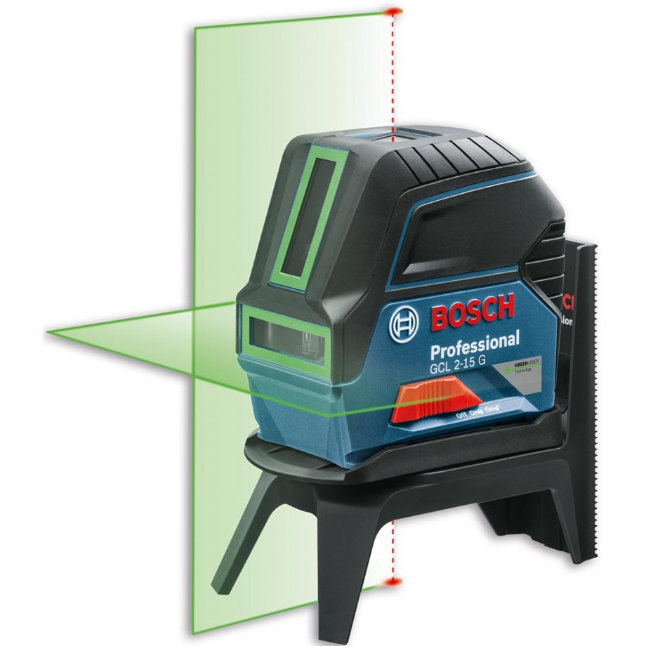 Bosch GCL2-15G Combi Laser with Green Beam & RM1