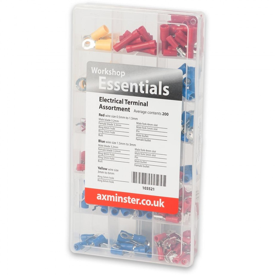 Axminster Electrical Terminal Assortment