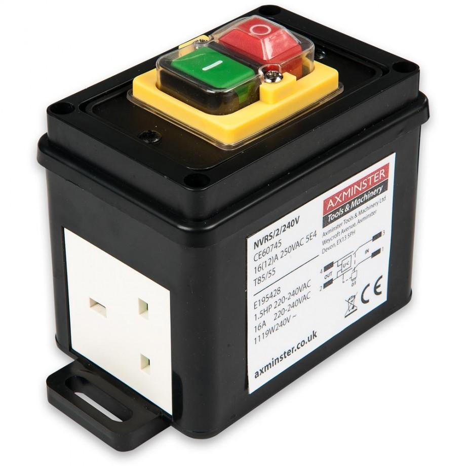 Axminster BS 13A Plug & Socket NVR Switch