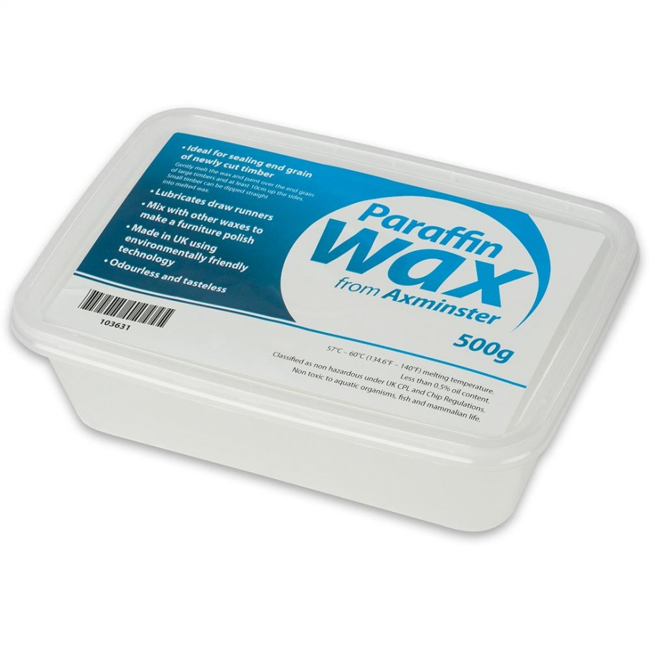 Axminster Paraffin Wax 500g