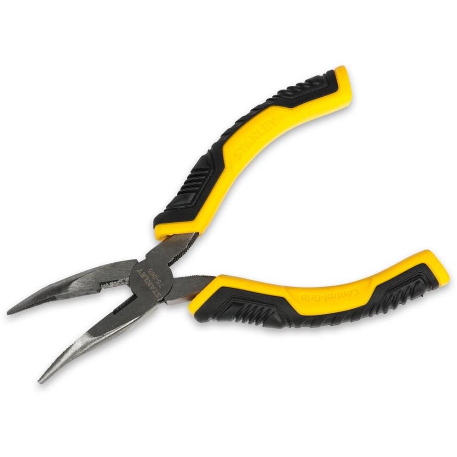 Stanley ControlGrip Long Nose Bent Pliers 150mm