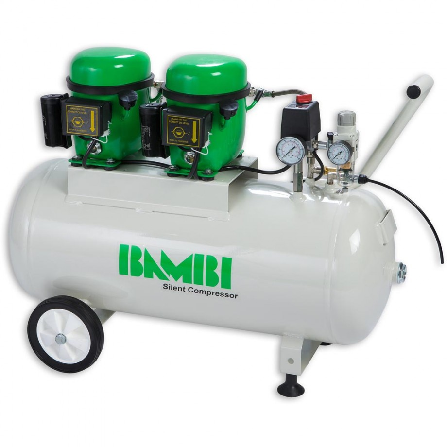 Bambi BB50D Silent Compressor & Wheel Kit
