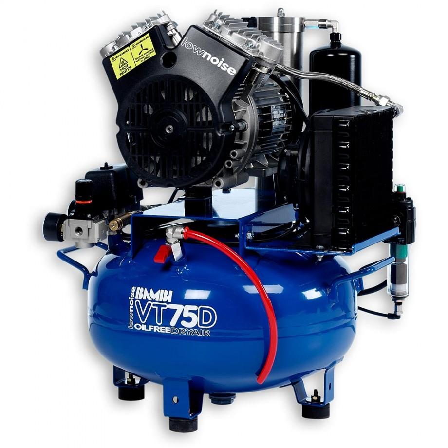 Bambi VT75D Oil Free ULN Compressor & Dryer