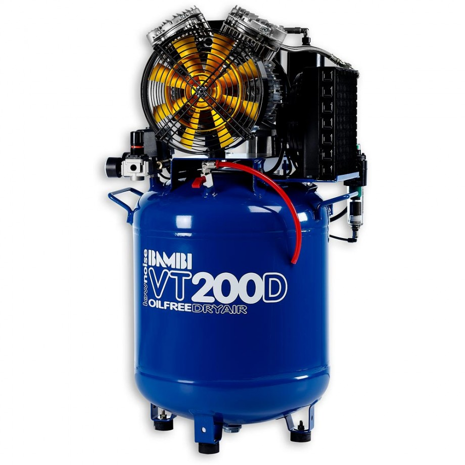 Bambi VT200D Oil Free ULN Compressor & Dryer