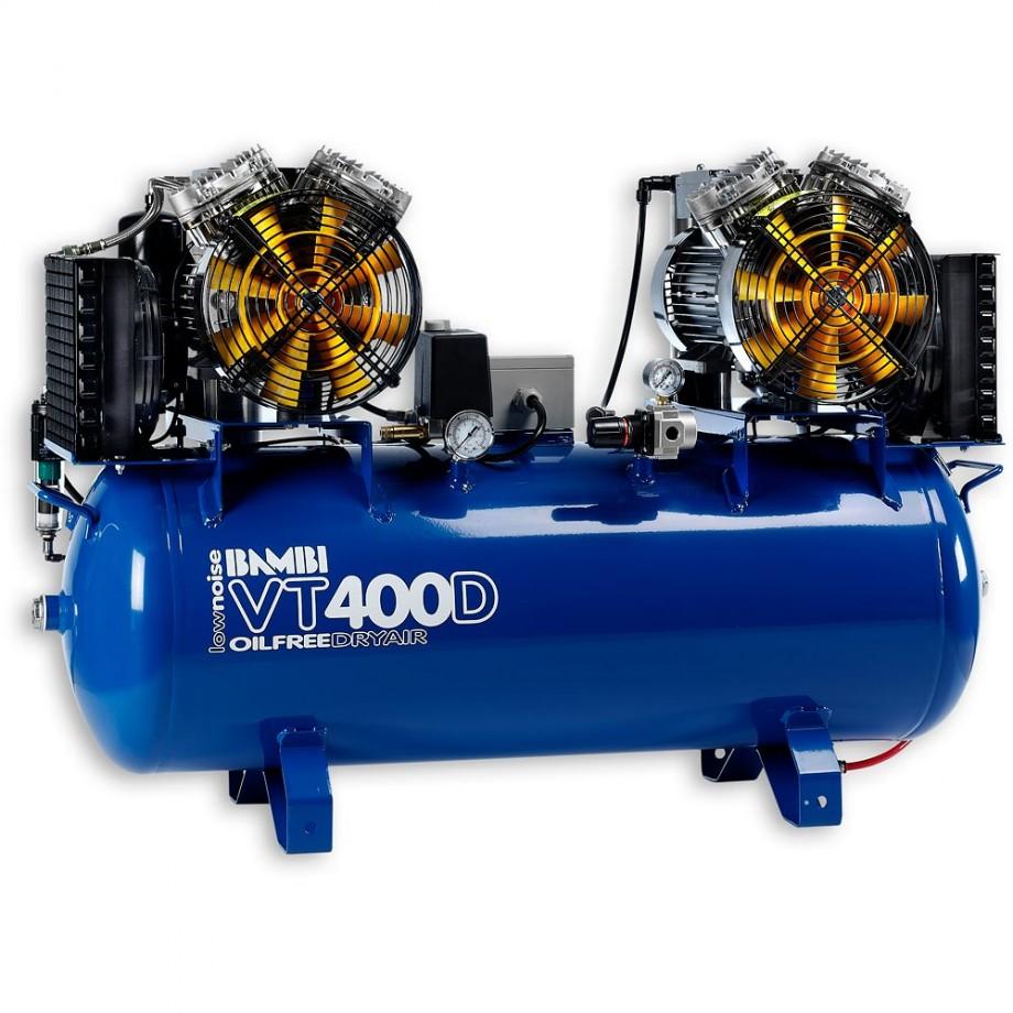 Bambi VT400D Oil Free ULN Compressor & Dryer