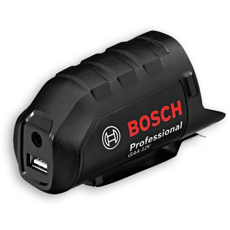 Bosch GAA12V USB Battery Adaptor 10.8-12V