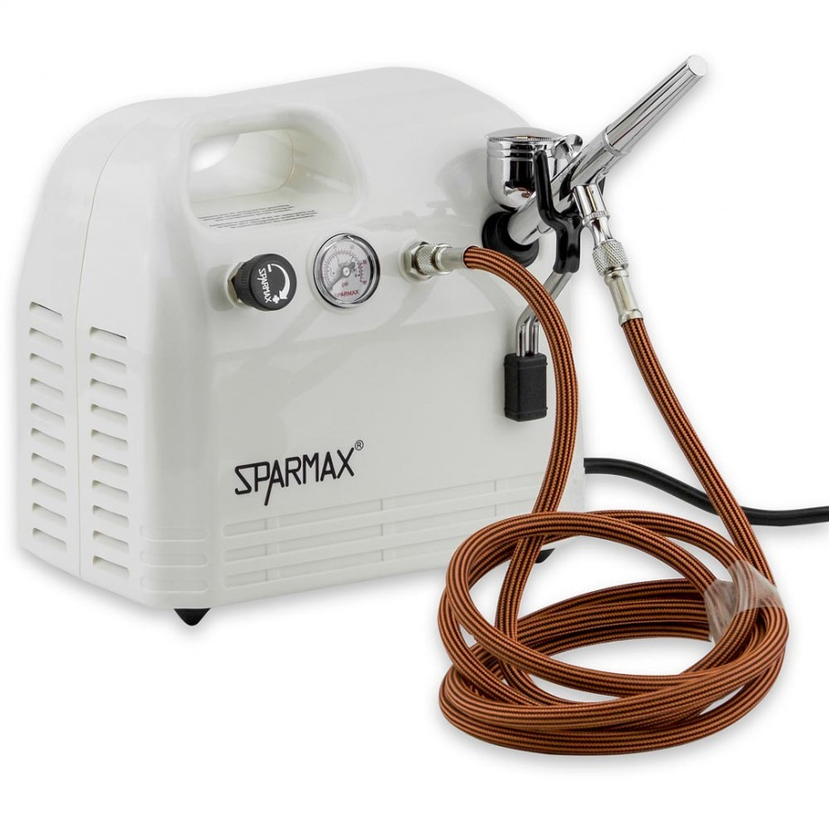 SprayCraft SP66 Professional Airbrush & Compressor Kit
