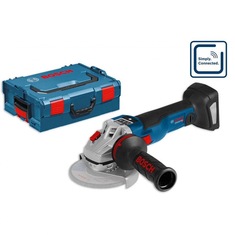 Bosch GWS 18V-125 SC 125mm Brushless Grinder in L-Boxx (Body Only)