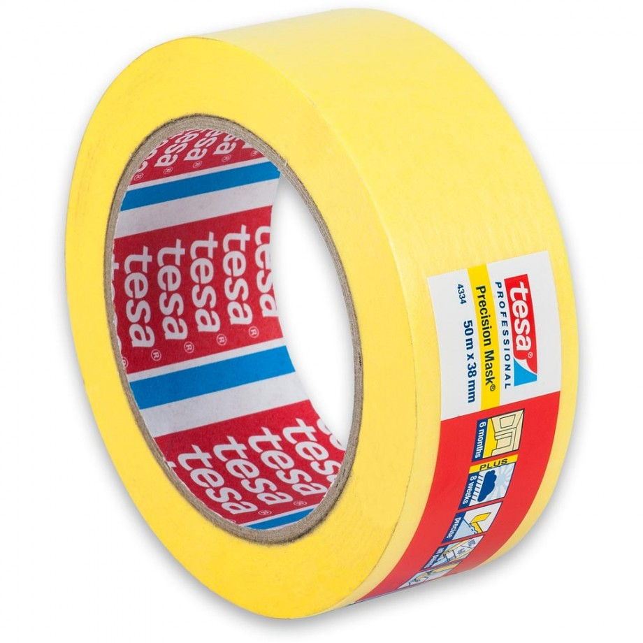 tesa Indoor & Outdoor Precision Masking Tape 38mm x 50m