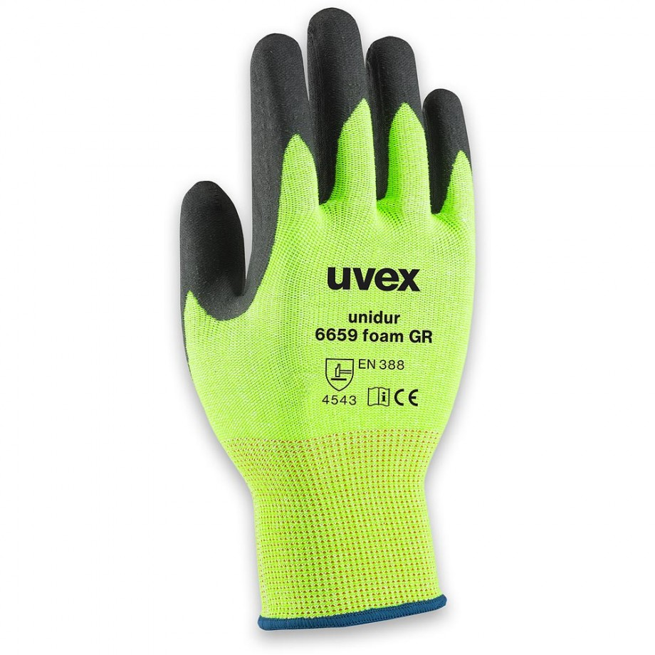 uvex Unidur 6659 Foam GR Gloves Size 9