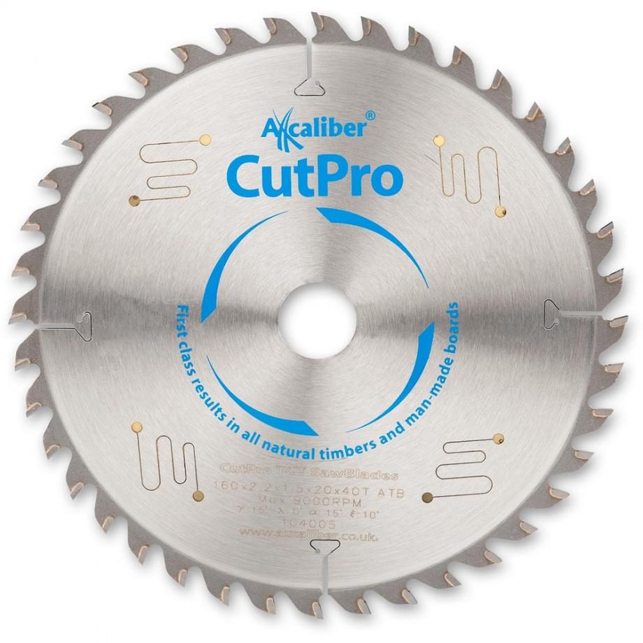Axcaliber CutPro TCT Saw Blade 160mm x 2.2mm x 20mm x 40T