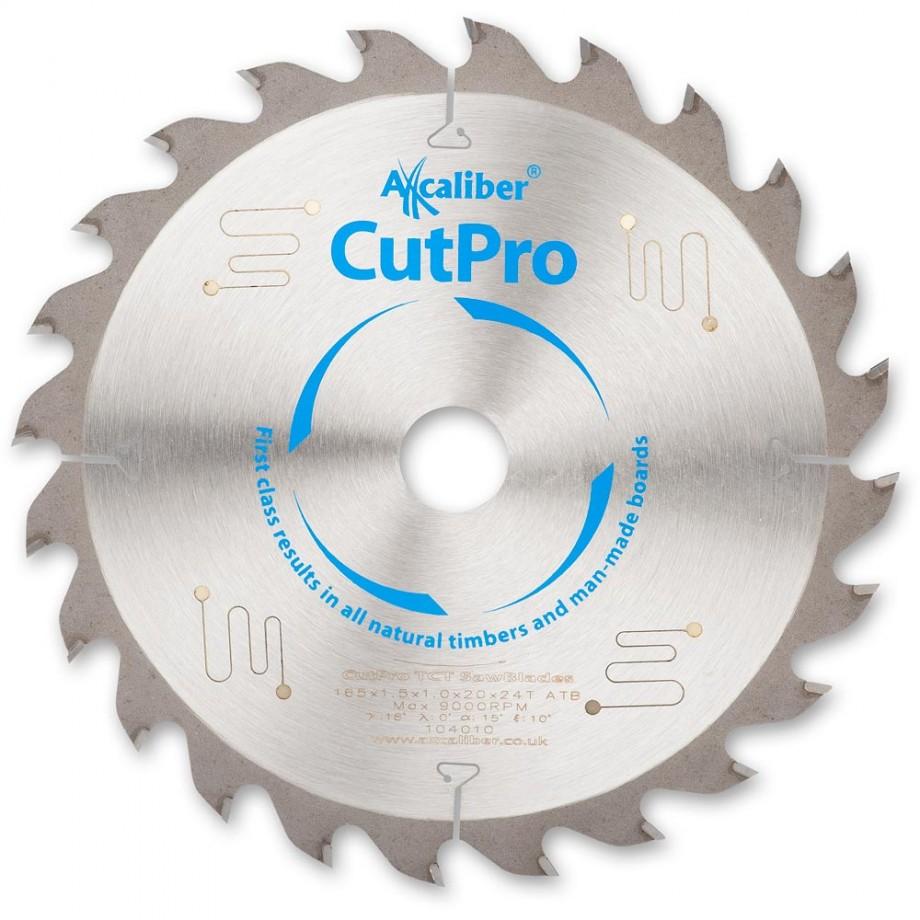 Axcaliber Cutpro TCT Saw Blade 165mm x 1.5mm x 20mm x 24T
