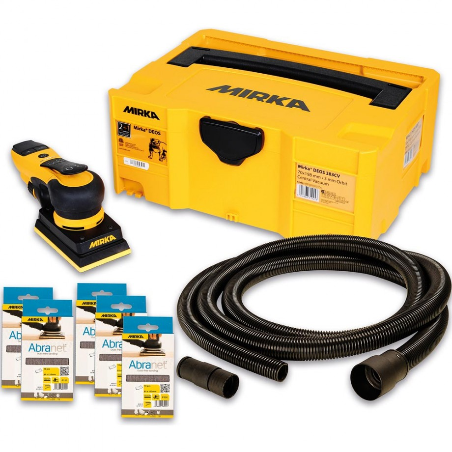 Mirka DEOS 353CV Orbital Sander Deco Solution Kit
